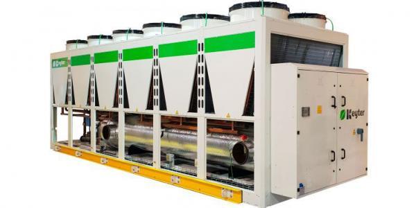 Chillere răcite cu aer cu compresoare screw PANGEA Keyter Spania